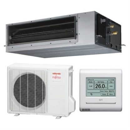 Climatisation FUJITSU ATLANTIC gainables Confort Plus 3,5 kW