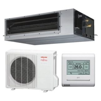 Climatisation FUJITSU ATLANTIC gainables Confort Plus 12,1 kW