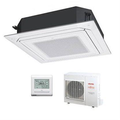 Climatisation ATLANTIC FUJITSU cassettes Confort Plus 800×800 13,3 kW
