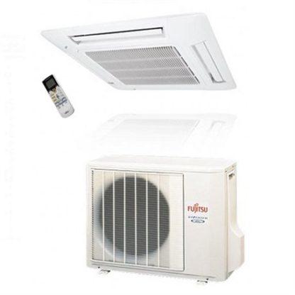 Climatisation ATLANTIC FUJITSU cassette 600×600 Dc inverter 4,3 kW