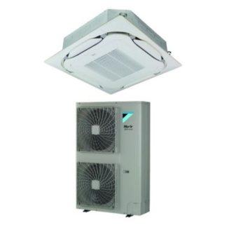 Climatisation DAIKIN cassette haut rendemement à voies de soufflage circulaire SkyAir Alpha-series 12,5 kW