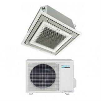 Climatisation cassette DAIKIN 600×600 extra plate 5 kW