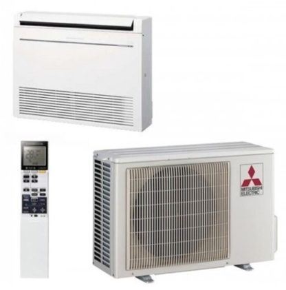 Climatiseur MITSUBISHI console de luxe hyper eating 2,5 kW