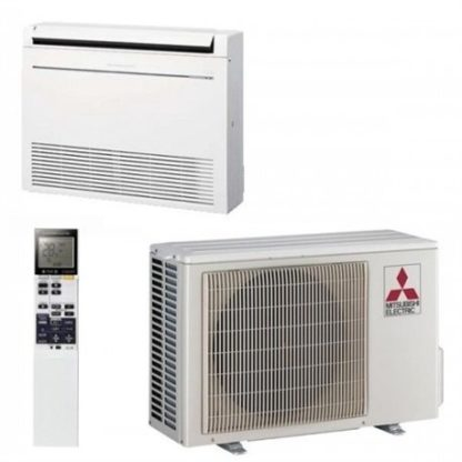Climatisation MITSUBISHI console de luxe hyper eating 5 kW