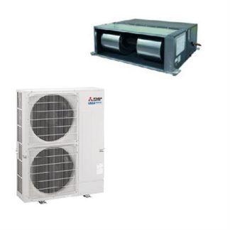 Climatisation gainable MITSUBISHI grands volumes inverter 20 kW
