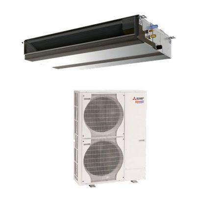 Climatiseur gainable tertiaire power inverter MITSUBISHI 12,5 kW