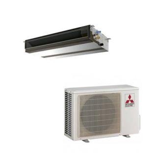 Climatiseur gainable MITSUBISHI tertiaire inverter 3,5 kW