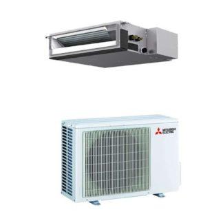 Climatiseur gainable MITSUBISHI essentiel inverter 5 kW
