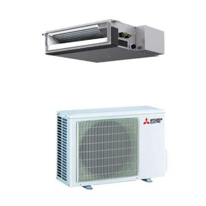 Climatiseur gainable MITSUBISHI essentiel inverter 6 kW