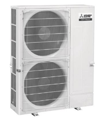 Climatiseur MITSUBISHI multi split PUMY bi-ventilateur inverter 12,5 kW