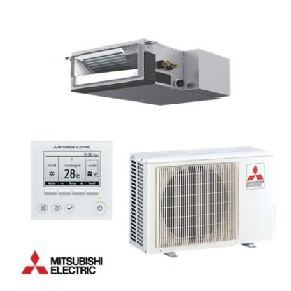 Climatiseur gainable MITSUBISHI compact inverter 3,5 kW