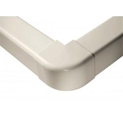Angle extérieur ivoire 80x60mm