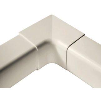 Angle intérieur ivoire 80x60mm