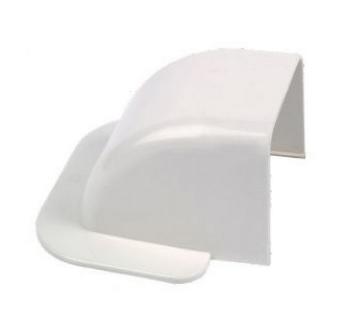 Sortie de mur ivoire 80x60mm
