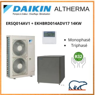 Daikin Altherma 14kW ERSQ014AV1 + EKHBRD014ADV17