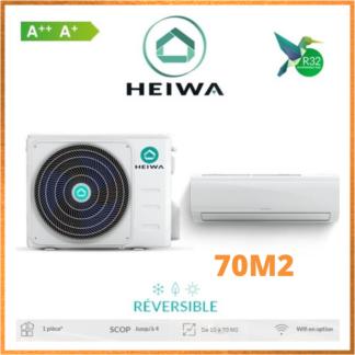 Climatiseur Monosplit ESSENTIAL HEIWA Zen 7 kW