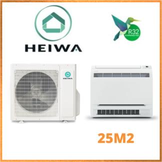 Climatiseur Monosplit Console HEIWA PREMIUM 2,5 kW