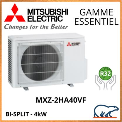 Mitsubishi Unités Extérieures – Bi-Splits – Essentiel – R32 – MXZ-2HA40VF  4kW