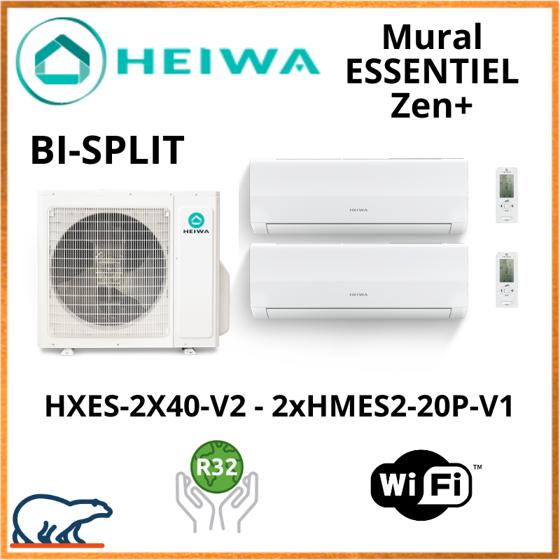 Bi split Heiwa essentiel Zen +