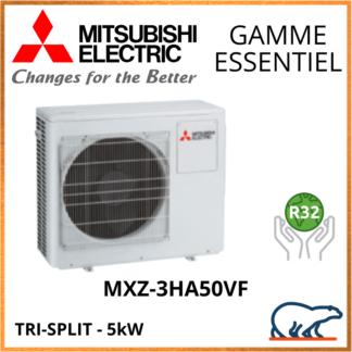 Mitsubishi Unités Extérieures – Tri-Splits – Essentiel – R32 – MXZ-3HA50VF 5 kW