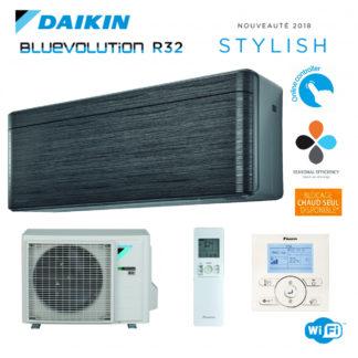 Climatisation Monosplit DAIKIN Stylish Noir 2,5 kW