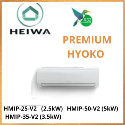 Unité Intérieure HEIWA PREMIUM HYOKO -R32- HMIP-25-V2/HMIP-35-V2/HMIP-50-V2
