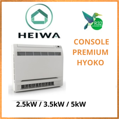 Console HEIWA Standard  PREMIUM HYOKO 2,5kW/3,5kW/5kW