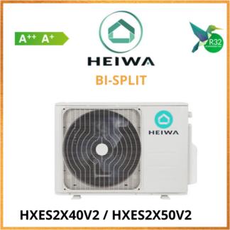 Groupe Extérieur Bi-split HEIWA HXES2X40V2/HXES2X50V2
