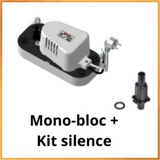 Pompe de Relevage Monobloc + Kit silence