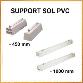 Support Sol En PVC