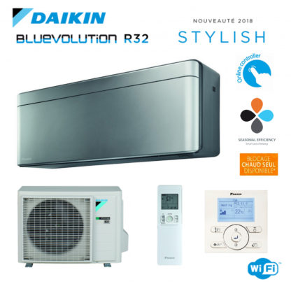 Climatiseur Monosplit DAIKIN Stylish Gris 2 kW