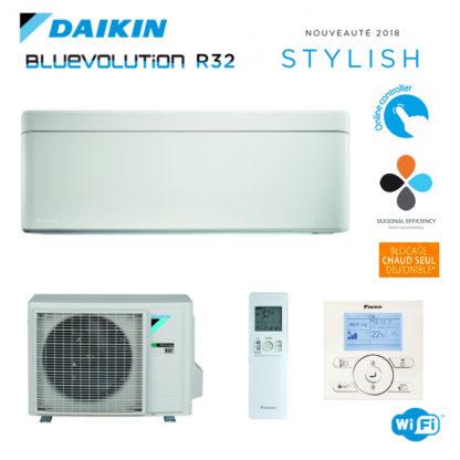 Climatiseur Monosplit DAIKIN Stylish Blanc 2,5 kW