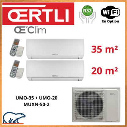 OERTLI Bi-Split UMO-35 + UMO-20 + MUXN-50-2
