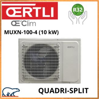 OERTLI Quadri-Split Groupe extérieur MUXN-100-4