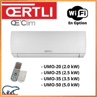 OERTLI Unités intérieures Multi-Split UMO20/25/35/50