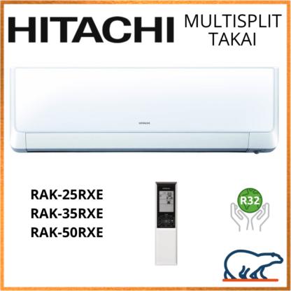 HITACHI Unités Intérieures Murales – TAKAI RAK-18QXE/RAK-(25/35/50)RXE